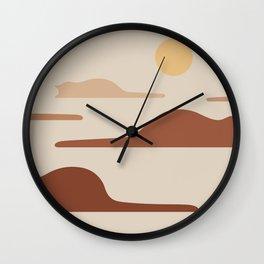 Cat Landscape 27 Wall Clock
