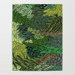 Leaf Cluster Poster