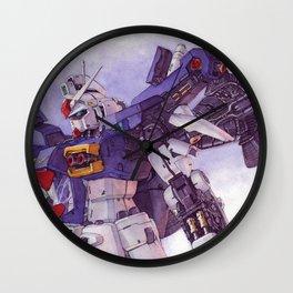 Gundam GP01 Wall Clock