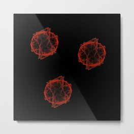 Fireballs Metal Print