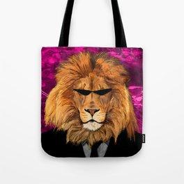Lion Suit Tote Bag