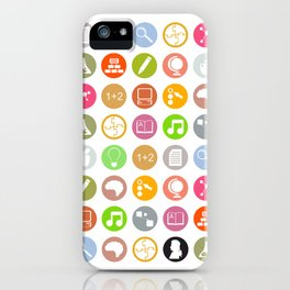 Science - Study Icons iPhone Case