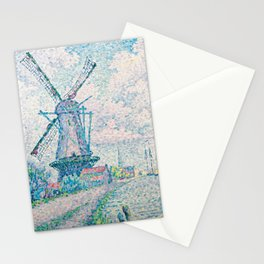 Paul Signac - Canal of Overschie Stationery Cards