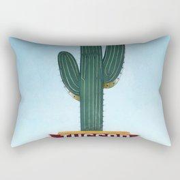 Tucson Vintage Neon Sign Rectangular Pillow