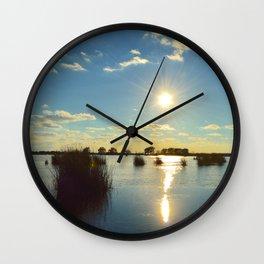 Sun Drop Wall Clock