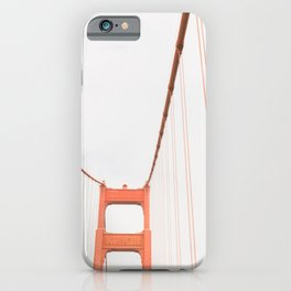 On the Golden Gate Bridge iPhone Case