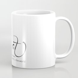 Cat is the best THERAPIST in the world Coffee Mug