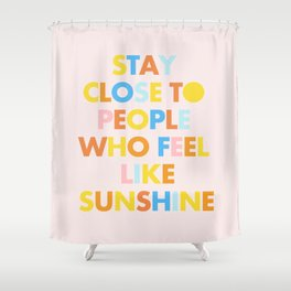 Sunshine People Shower Curtain