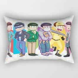 NEET parade casual outfits Rectangular Pillow