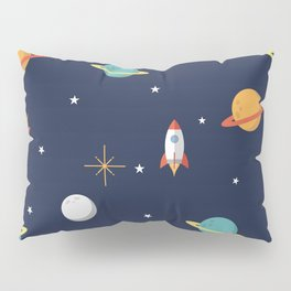 Space Pattern Pillow Sham