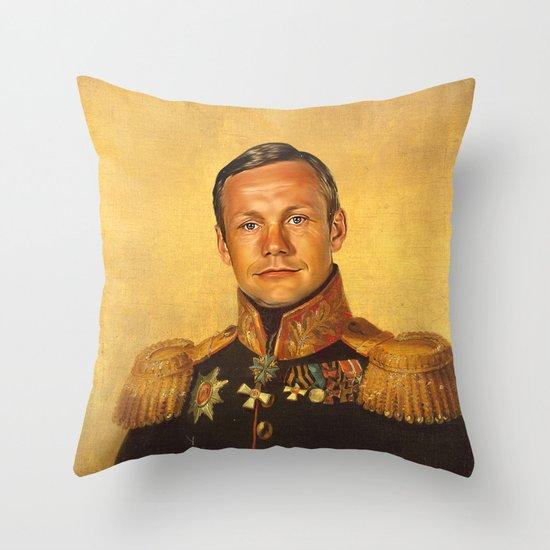 Neil Armstrong - replaceface Throw Pillow