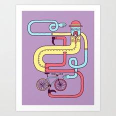 Go Riding Art Print