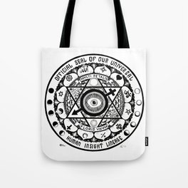 Universal Insight Lineage Tote Bag