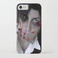 kuroshitsuji iPhone & iPod Cases featuring Claude Faustus by Lalasosu2