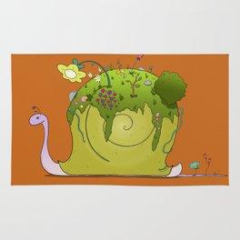 Snail's Garden Rug