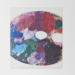 Paint  Throw Blanket