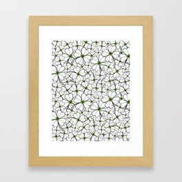 Line art - Clover Framed Art Print