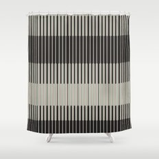 Piano Man | Abstract Pattern Shower Curtain