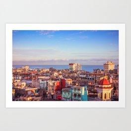 Old Havana at Morning Art Print