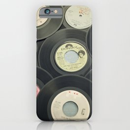 Sounds of the 70s II iPhone Case
