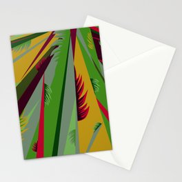 With Leaves Stationery Cards