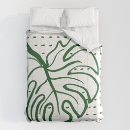 Monstera Leaf Comforters