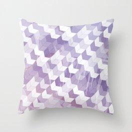 Abstract Geometric Cubes Design Throw Pillow