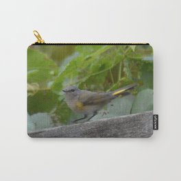 A Female American Redstart Carry-All Pouch