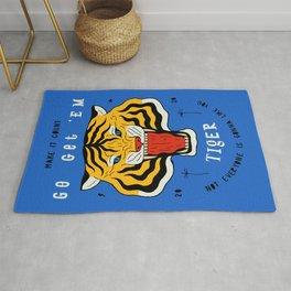 Go Get 'Em Tiger Rug