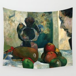 1886 - Gauguin - Still Life with Profile of Laval Wall Tapestry