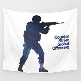Space Army - Counter Strike Wall Tapestry
