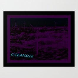 Oceansize Art Print