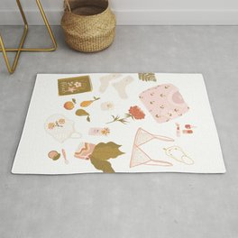 Girly stuff Rug