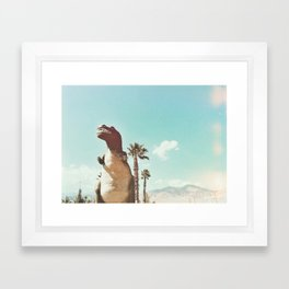dino daze Framed Art Print
