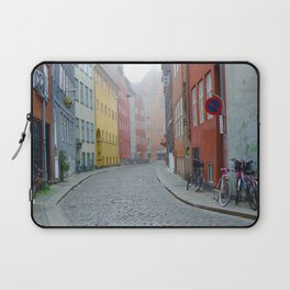 Color and Fog in Copenhagen Laptop Sleeve