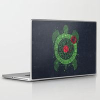 coldplay Laptop & iPad Skins featuring On Turtle BPM by Sitchko Igor