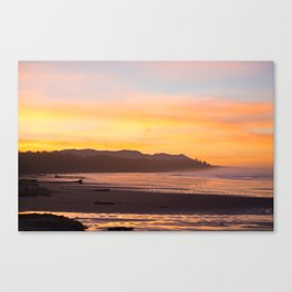 Long Beach Sunrise Canvas Print