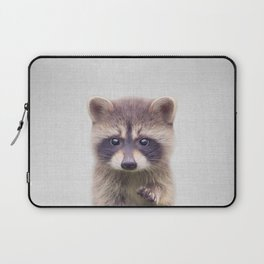 Raccoon - Colorful Laptop Sleeve
