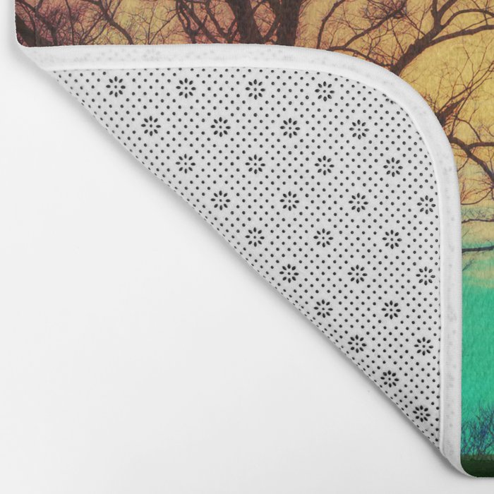 I can feel your heartbeat Bath Mat