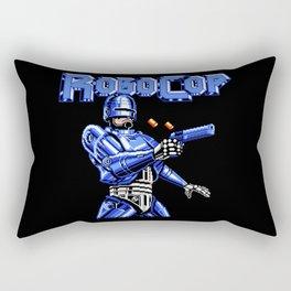 Robocop 8bit Game Rectangular Pillow