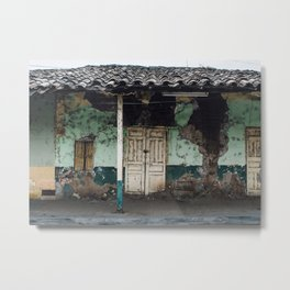 Macará House Metal Print