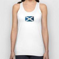scotland Tank Tops featuring Scotland by Arken25