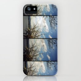 floating trees iPhone Case