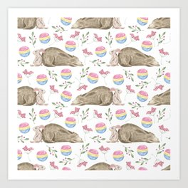 Bear Pattern #9 Art Print