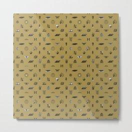 House of the Loyal - Pattern II Metal Print
