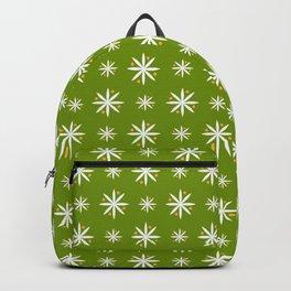 geometric flower 100 green Backpack