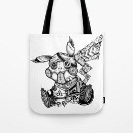 Steampunkachu Tote Bag