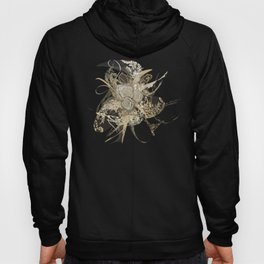 50 Shades of lace Gold Black Hoody