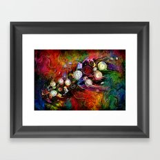 time express Framed Art Print