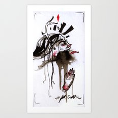 Gurgle Art Print
